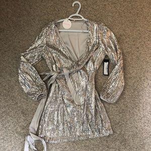 Luxxel Beautiful Sequin Mini Dress